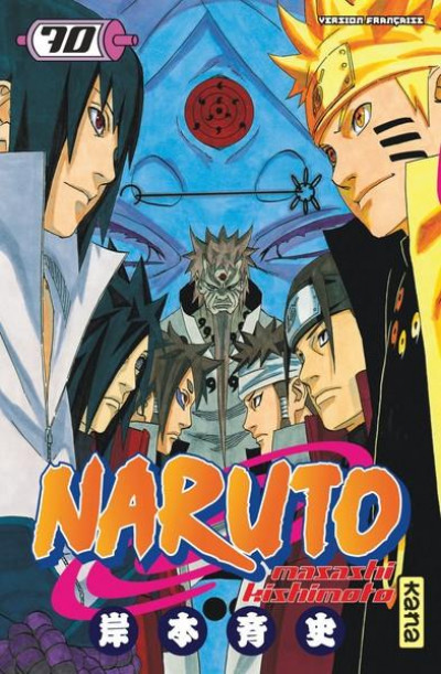Couverture Naruto tome 70
