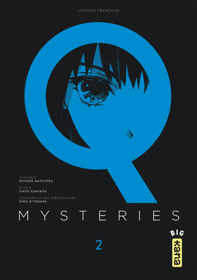 Couverture Q Mysteries tome 2