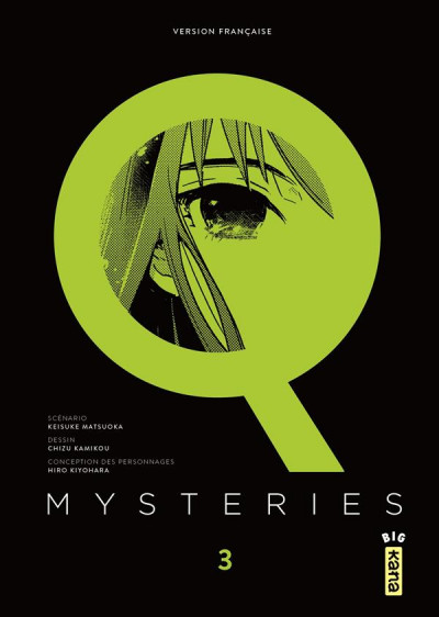 Couverture Q Mysteries tome 3