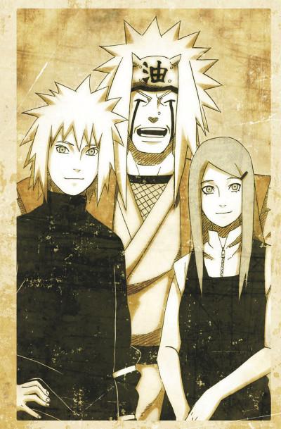 Page 3 Naruto - Le roman de Jiraya