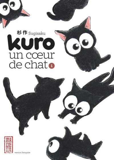 Couverture Kuro un coeur de chat tome 1