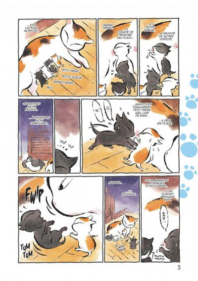 Page 3 Kuro un coeur de chat tome 1