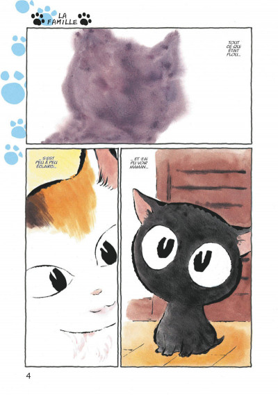 Page 4 Kuro un coeur de chat tome 1