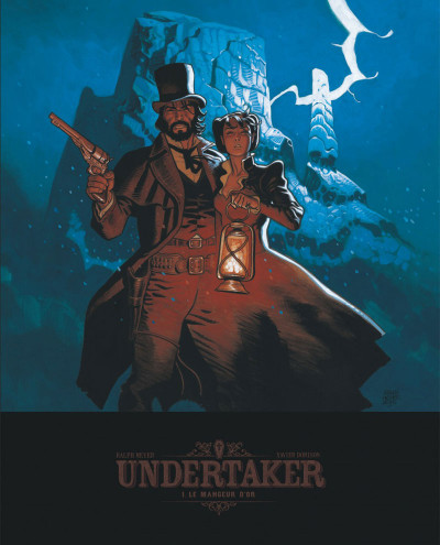 Couverture Undertaker tome 1 - édition bibliophile