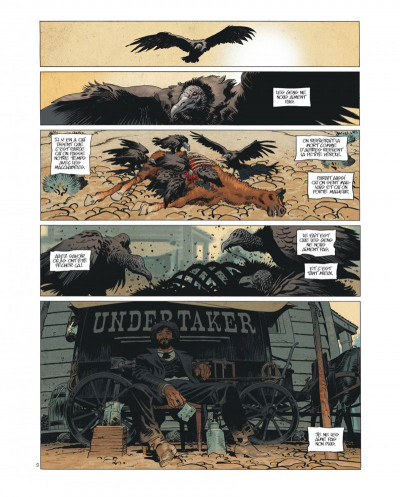 Page 3 Undertaker tome 1 - édition bibliophile