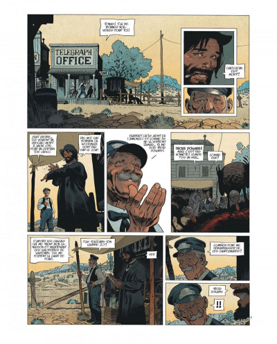 Page 4 Undertaker tome 1 - édition bibliophile