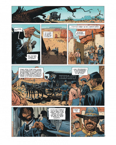Page 6 Undertaker tome 1 - édition bibliophile