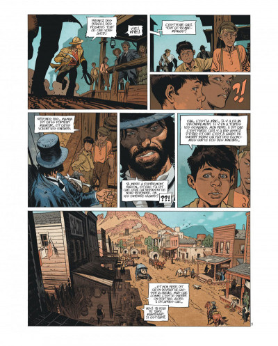 Page 8 Undertaker tome 1 - édition bibliophile