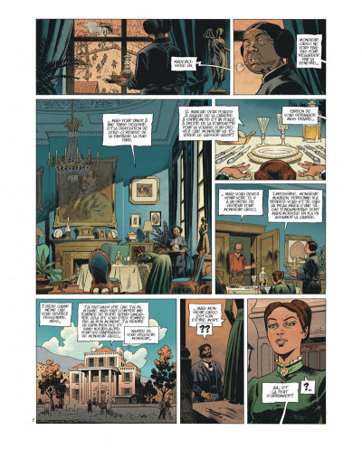 Page 9 Undertaker tome 1 - édition bibliophile