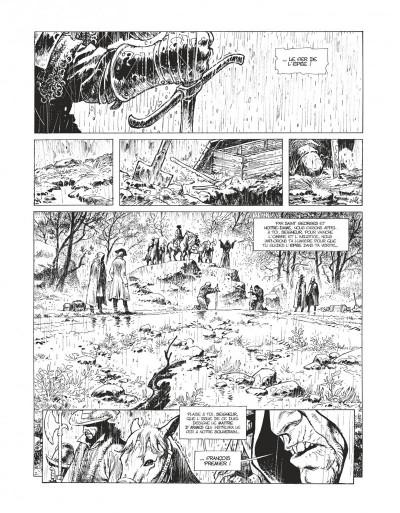 Page 3 Le maître d'armes - version n&b