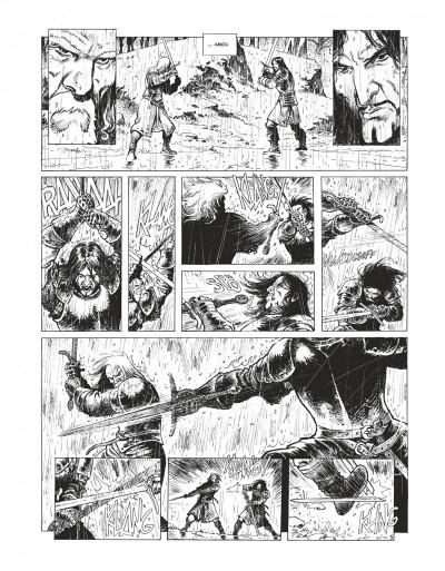 Page 4 Le maître d'armes - version n&b