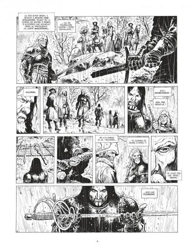 Page 5 Le maître d'armes - version n&b