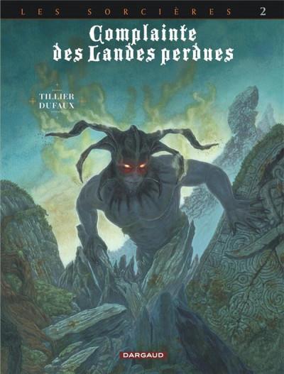 Couverture Complainte des landes perdues - Cycle les sorcières tome 2 - Inferno + ex-libris offert
