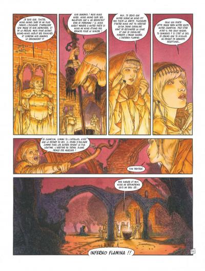 Page 3 Complainte des landes perdues - Cycle les sorcières tome 2 - Inferno + ex-libris offert