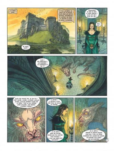 Page 7 Complainte des landes perdues - Cycle les sorcières tome 2 - Inferno + ex-libris offert