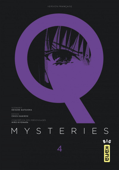Couverture Q mysteries tome 4