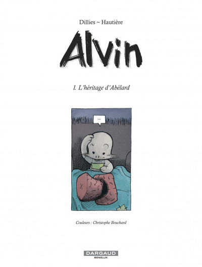 Page 1 Alvin tome 1