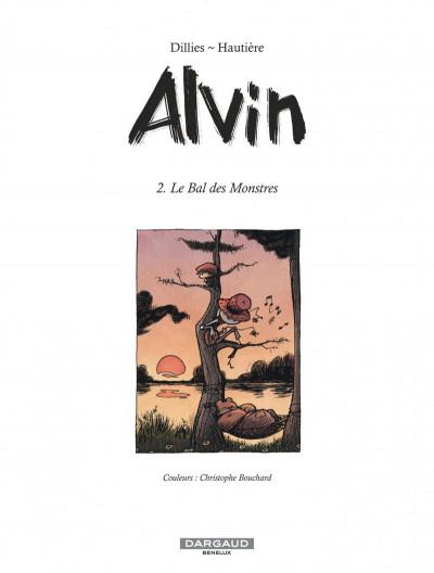 Page 1 Alvin tome 2