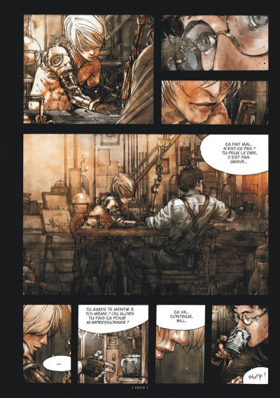 Page 3 Levius tome 1