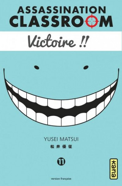 Couverture Assassination classroom tome 11