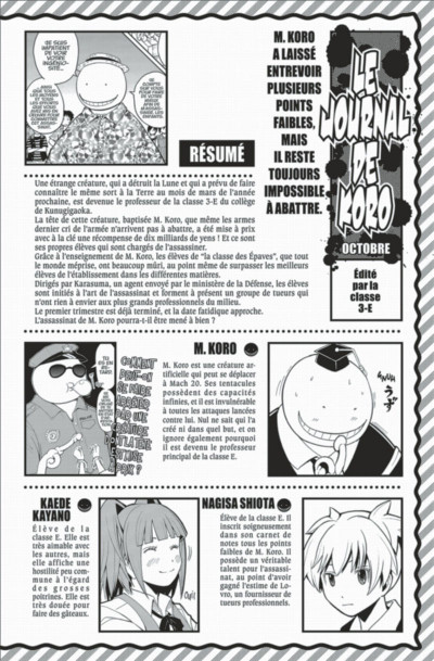 Page 4 Assassination classroom tome 11