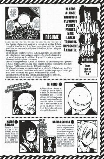 Page 4 Assassination classroom tome 12