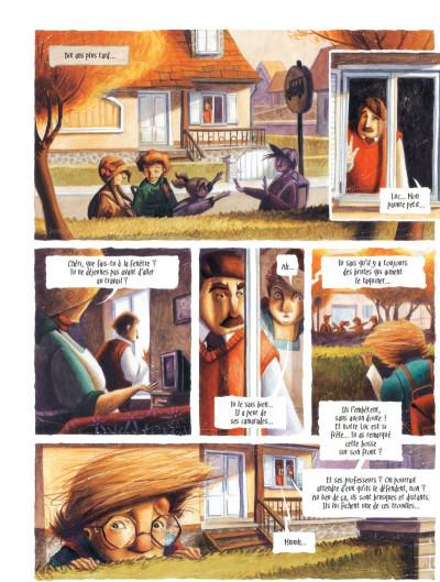 Page 4 Le coeur de L'ombre