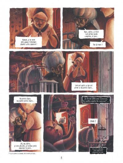 Page 8 Le coeur de L'ombre