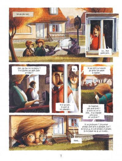 Page 9 Le coeur de L'ombre