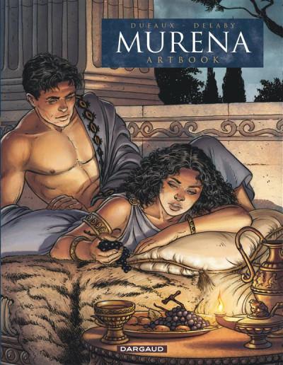 Couverture Murena - artbook