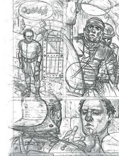 Page 1 Murena - artbook