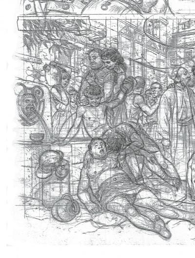 Page 4 Murena - artbook