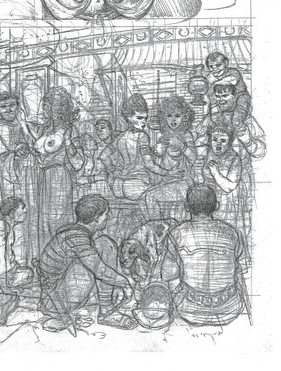 Page 5 Murena - artbook