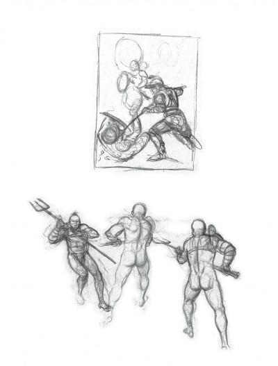 Page 9 Murena - artbook