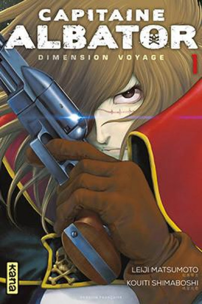 Couverture Capitaine Albator - Dimension voyage tome 1