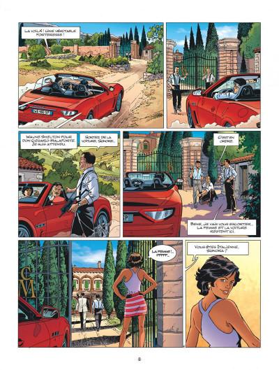 Page 8 Wayne Shelton tome 13