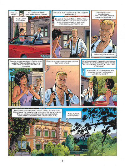 Page 9 Wayne Shelton tome 13