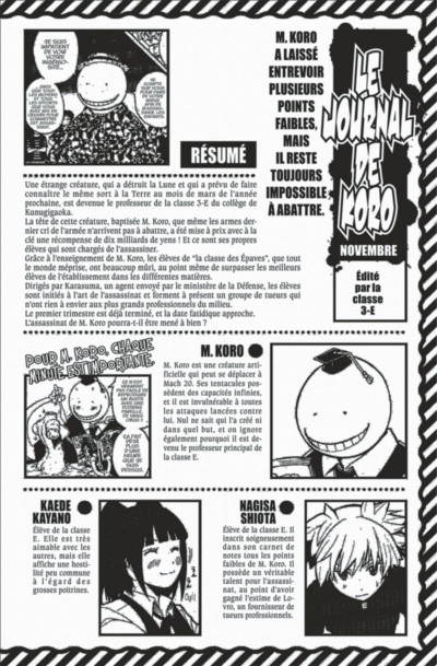 Page 4 Assassination classroom tome 13