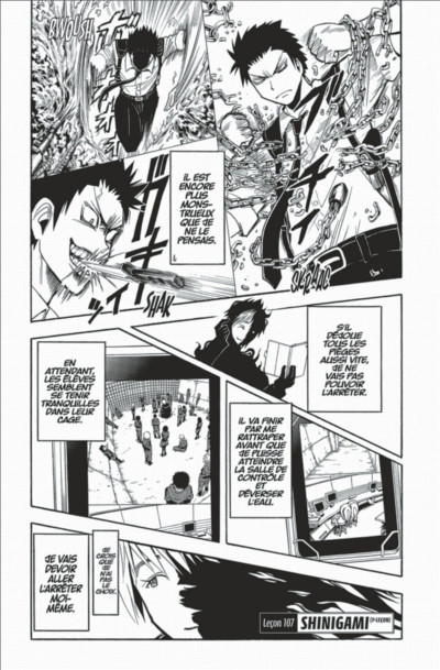 Page 7 Assassination classroom tome 13