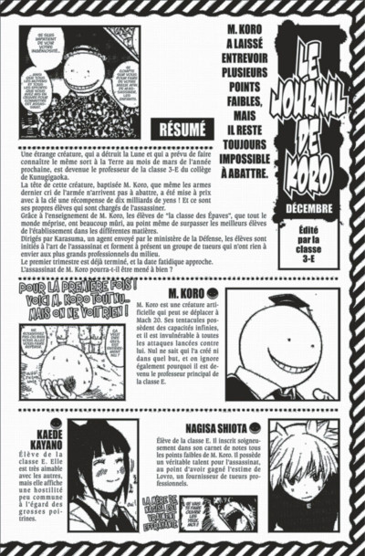 Page 4 Assassination classroom tome 14