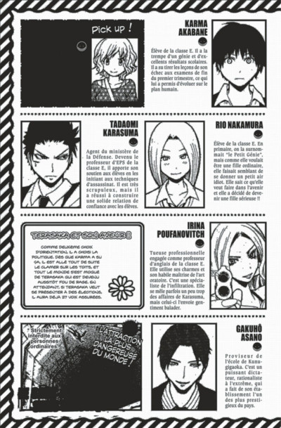 Page 5 Assassination classroom tome 14
