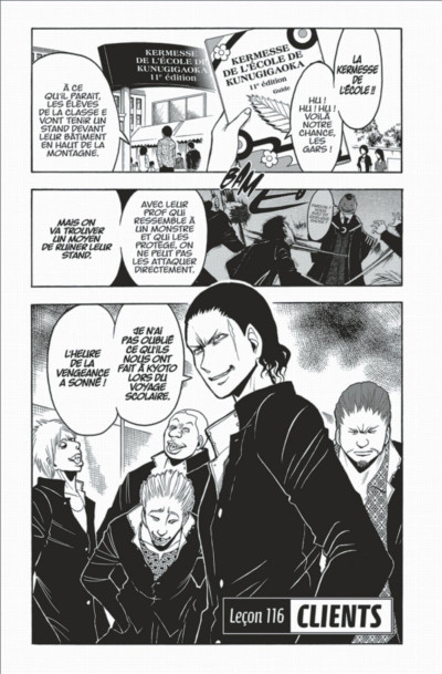 Page 9 Assassination classroom tome 14