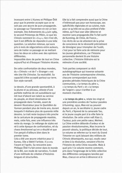 Page 7 Une vie chinoise - intégrale