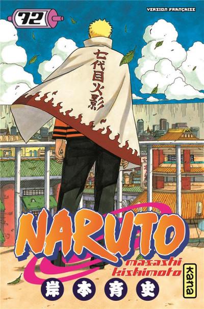 Couverture Naruto tome 72