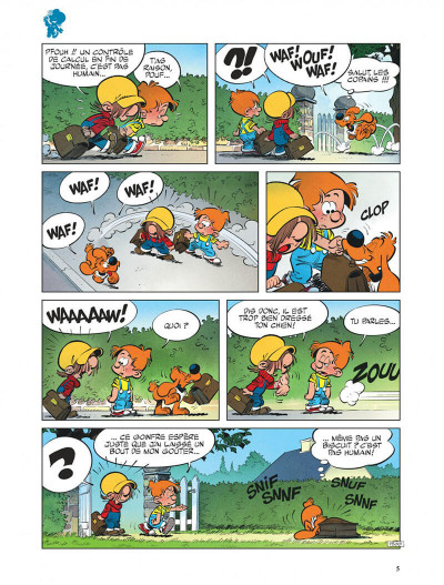 Page 5 Boule et Bill tome 37