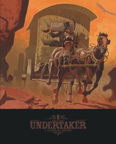 Couverture Undertaker - édition bibliophile tome 2