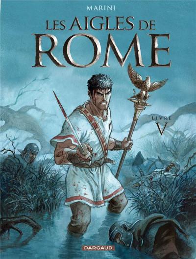 Couverture Les aigles de Rome tome 5