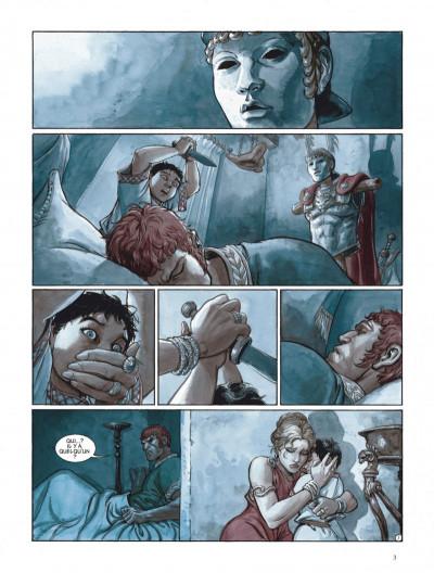 Page 3 Les aigles de Rome tome 5