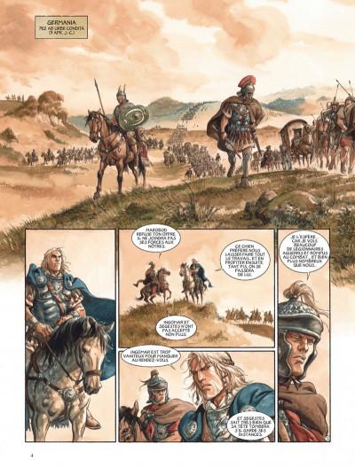 Page 4 Les aigles de Rome tome 5