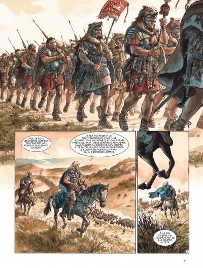 Page 5 Les aigles de Rome tome 5